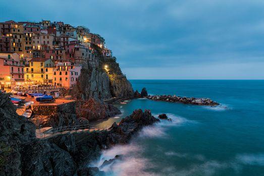 Фото бесплатно Manorola, Cinque Terre, Italy