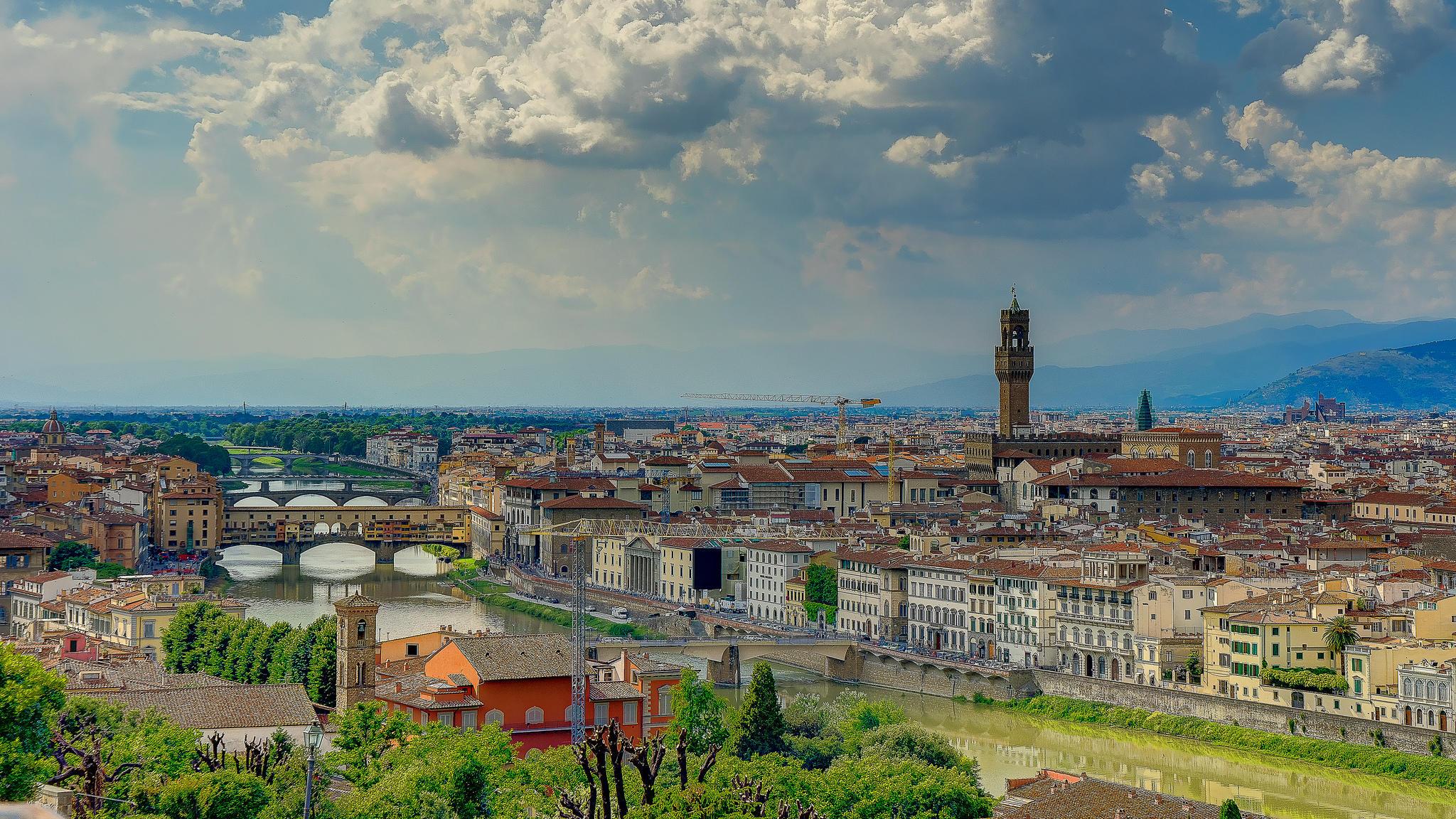 Обои Florence, Italy, Италия, Флоренция