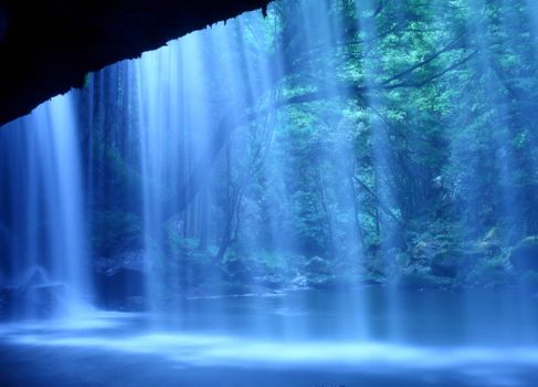 Фото бесплатно Nabegataki-Falls, Kumamoto, Japan