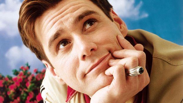 Фото бесплатно Джим Керри, актер, комик, взгляд, перстень