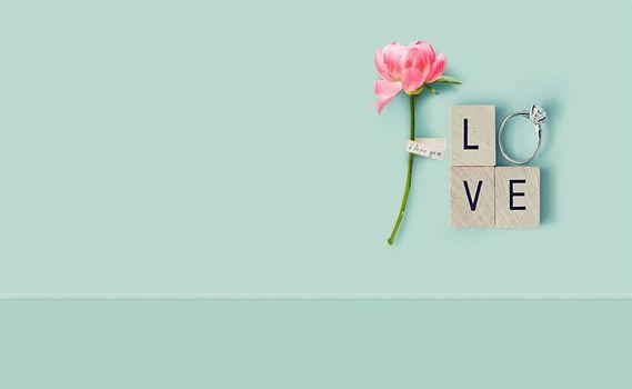Бесплатные фото бирюзовый,кольцо,цветок