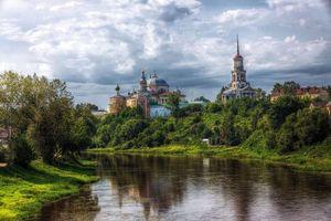Фото бесплатно храм, Борисоглебский собор, дома