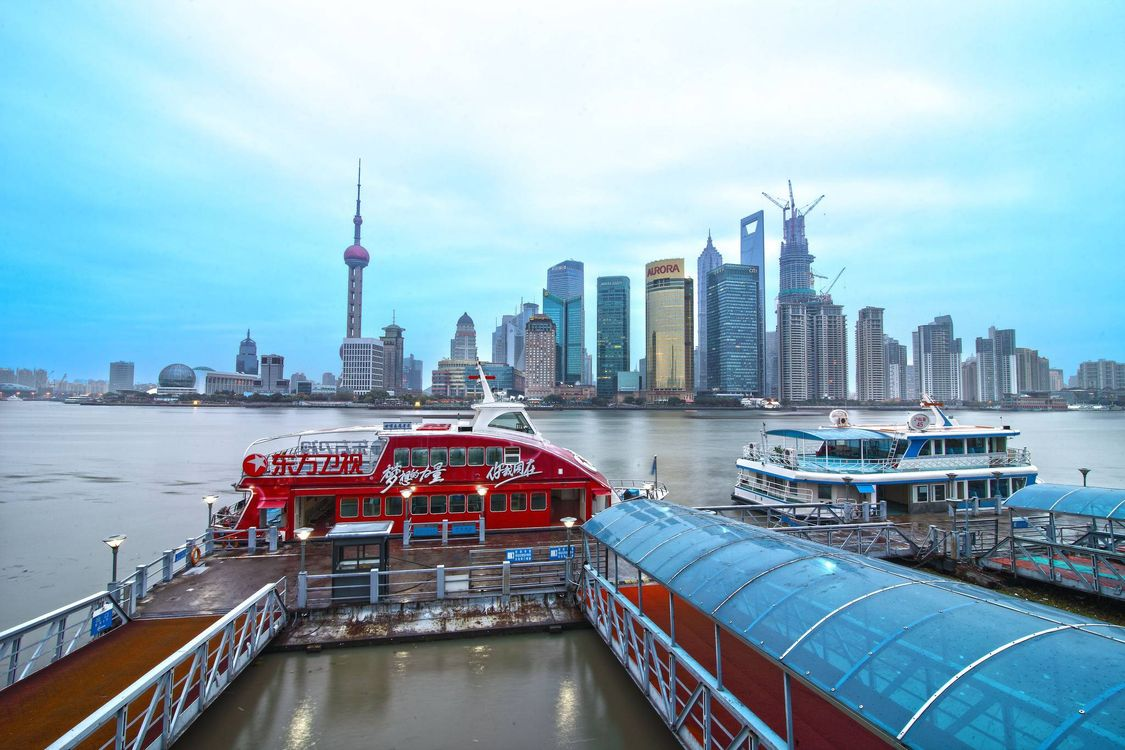 Фото бесплатно Шанхай, Китай, Shanghai, China, город
