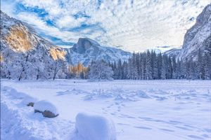 Заставки Национальный Парк Йосемите, Калифорния, США