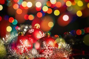 Обои Рождество, фон, дизайн, элементы, новогодние обои, новый год, иллюминация, украшения