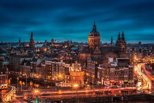 Скачать амстердам, нидерланды картинки бесплатно