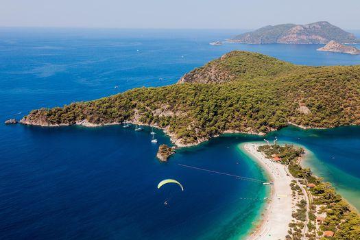 Заставки лагуна Олюдениз, Турецкий пляж