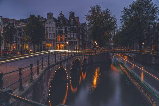 Фото бесплатно Амстердам, столица и крупнейший город Нидерландов, расположен в провинции Северная Голландия