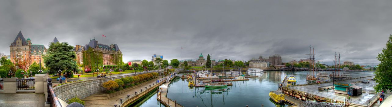 Photo free Victoria, British Columbia, a city in the far west of Canada