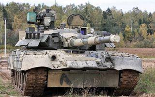 Фото бесплатно танк, башня, люки