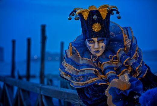 Заставки маски, венецианский костюм, италия