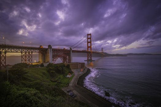 Фото бесплатно закат, пейзажи, Сан-Франциско