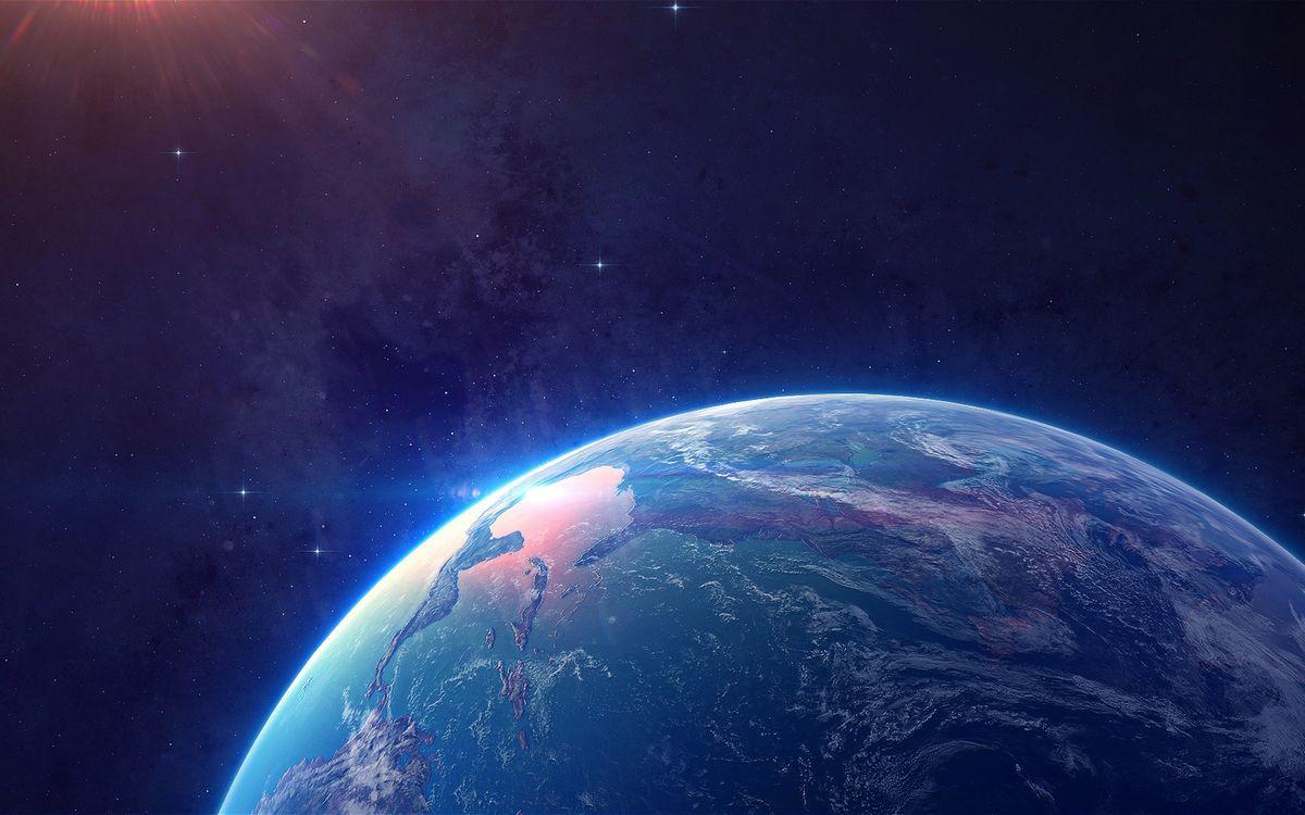 Фото бесплатно планета, земля, космос, вода, космос