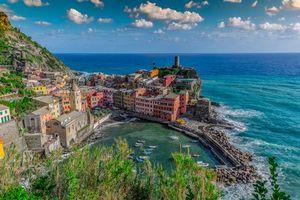 Фото бесплатно Vernazza, Вернацца, Италия, fonwall ru