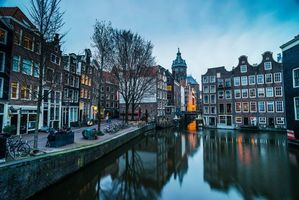 Photo free Amsterdam, Located in the province of North Holland, panorama