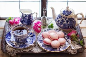 Бесплатные фото чайник, чай, печенье, кружка, натюрморт