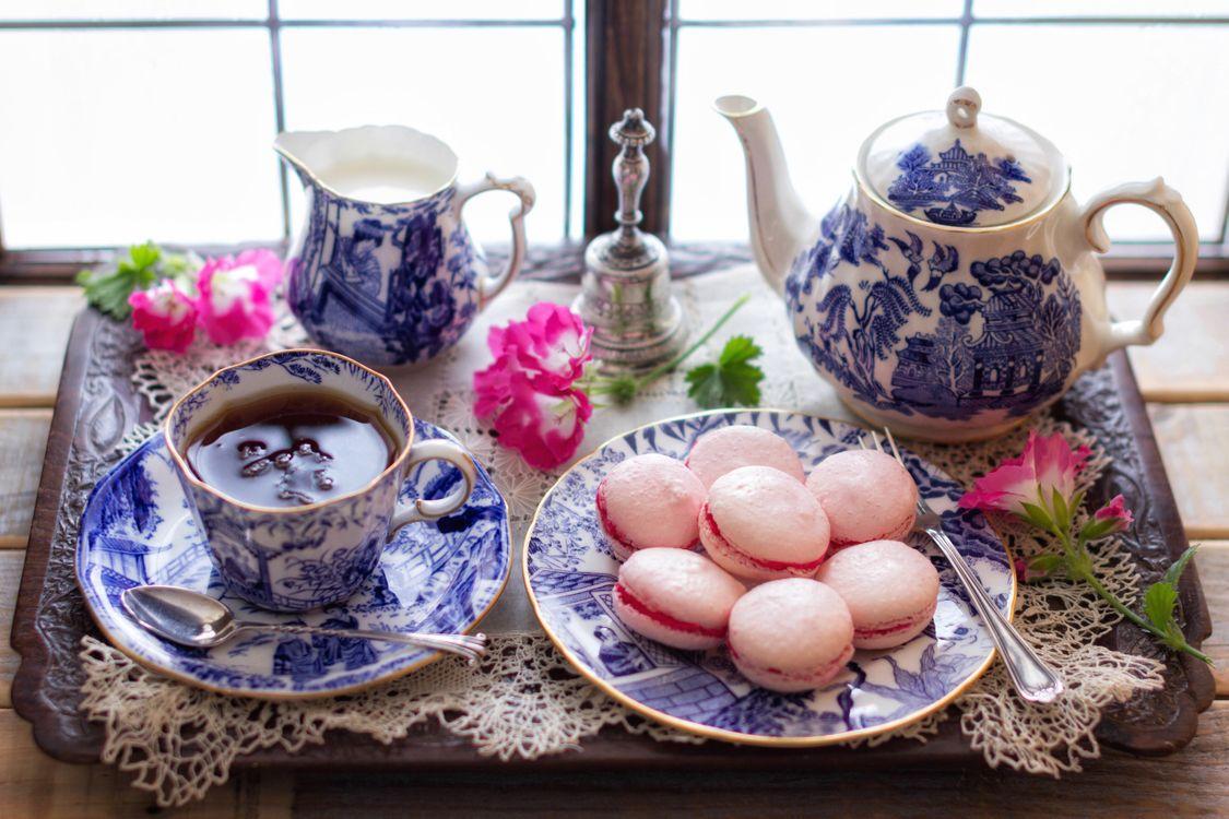 Фото бесплатно чайник, чай, печенье, кружка, натюрморт, разное