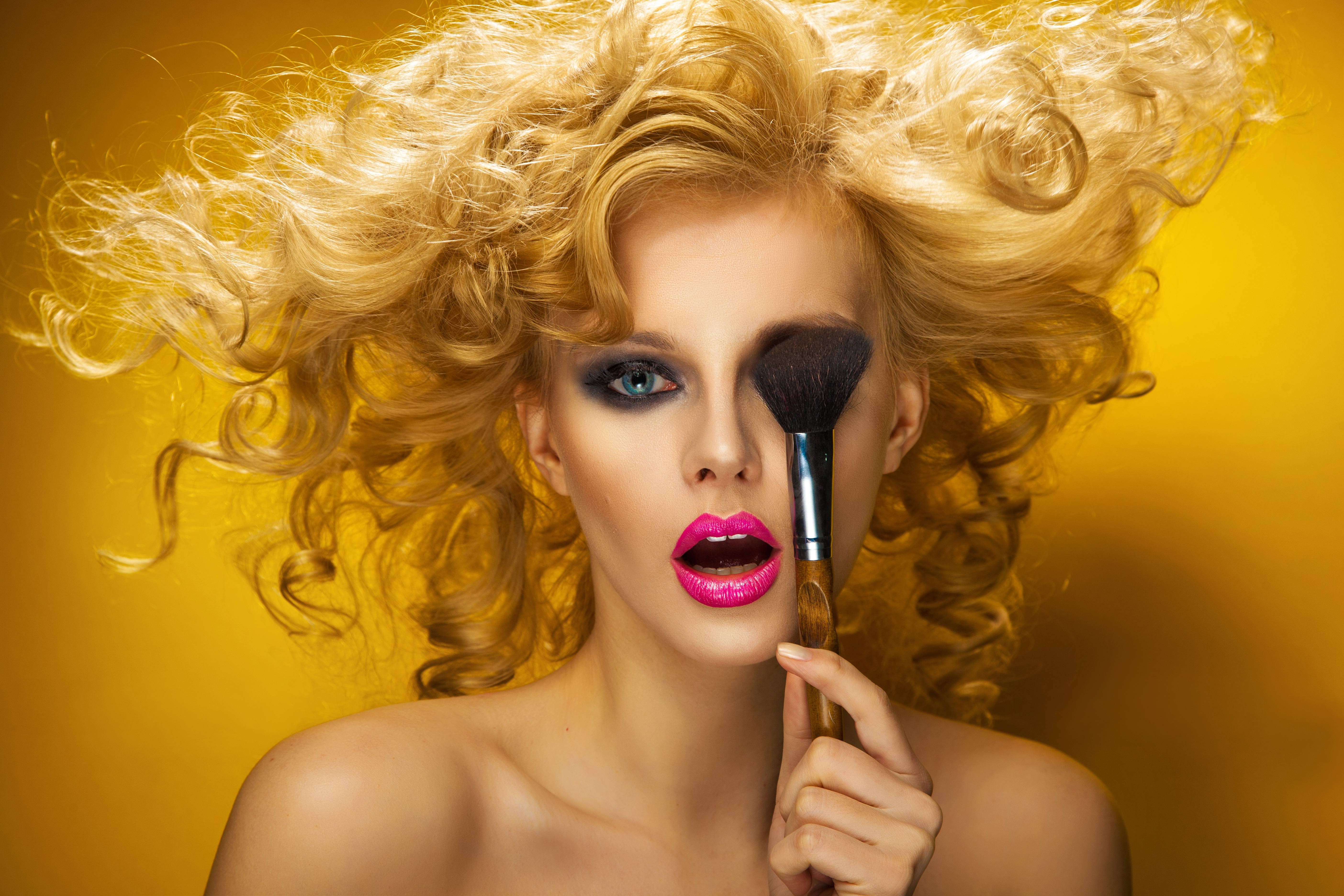 девушка, девушки, макияж