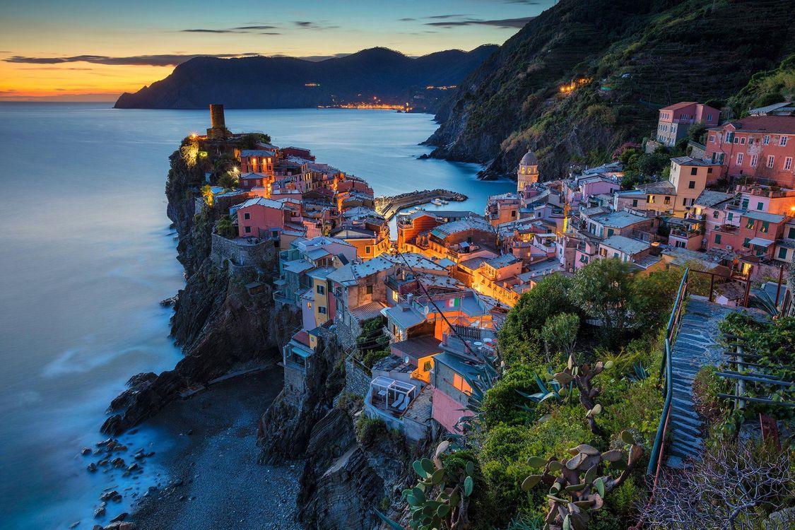 Фото бесплатно Vernazza, Italy, Вернацца, Италия, город - скачать на рабочий стол