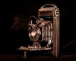 Бесплатные фото фотоаппарат,камера,чёрный фон