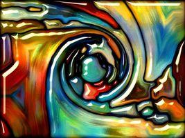 3д рисунок красками