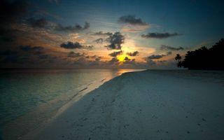 Фото бесплатно тропики, вечер, берег