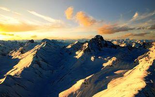 Бесплатные фото горы,скалы,вершины,снег,небо,облака