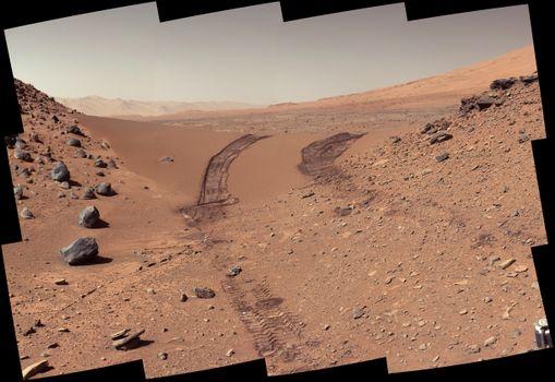 Бесплатные фото Марс,фото,след,Кириосити,Curiosity,наука,космос,планета