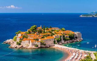 Бесплатные фото городок на полуострове, дома, океан