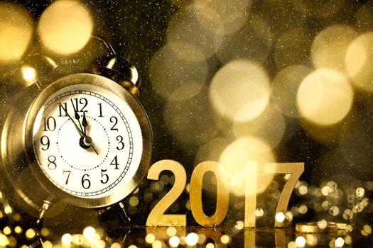 Фото бесплатно с новым 2017 годом, дата, новогодний фон