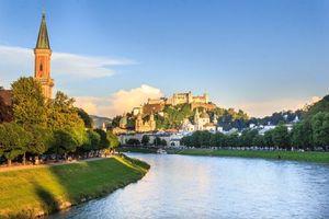 Фото бесплатно Австрия, Зальцбург, город