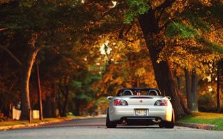 Photo free Honda, cabriolet, lights
