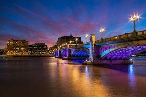 Фото бесплатно Саутварк мост, река Темза, Лондон