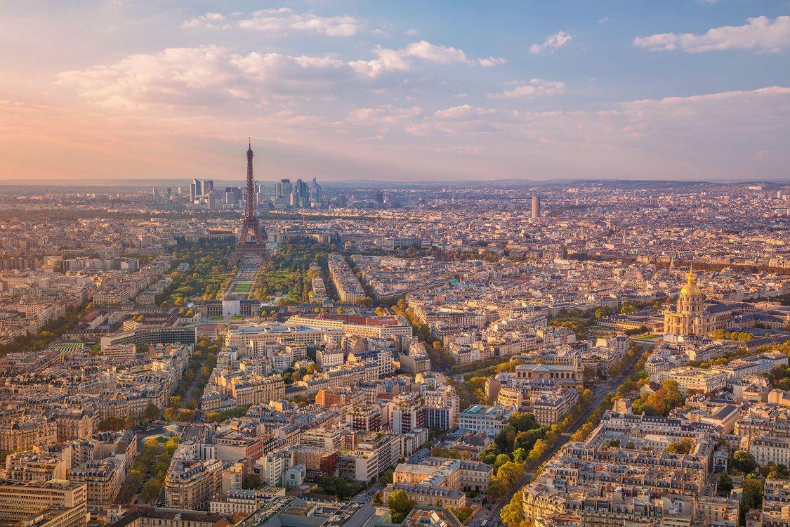 Фото бесплатно Париж, Эйфелева башня, Франция - на рабочий стол