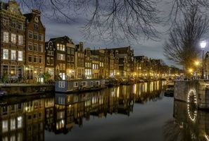 Photo free Amsterdam, the capital and the largest city of the Netherlands, Netherlands