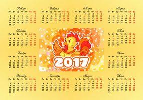 Фото бесплатно календарь на 2017 год, год петуха, календарь год петуха