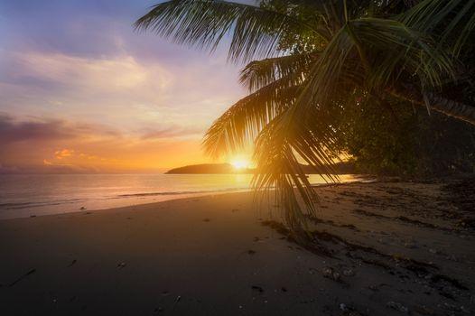 Заставки Порт Буало, Сейшельские острова, море