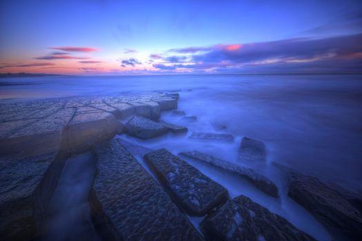 Заставки Северное Море, Северо-Восточная Англия, Нортумберленд