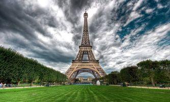 Заставки облака, небо, Париж