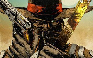Бесплатные фото глаза,шляпа,револьвер,меч,пистолет,оружие,разное