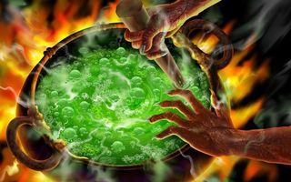 Бесплатные фото колдовство,магия,огонь,котел,жидкость,руки,ведьма