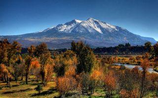 Фото бесплатно осень, горы, вершины