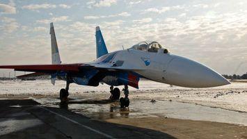 Заставки су-24, истребитель, самолет, крылья, колеса, шасси, асфальт, авиация