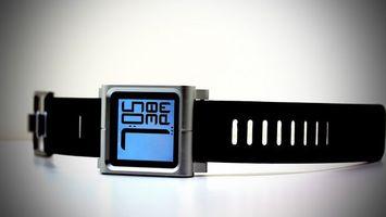 Фото бесплатно часы, серебристые, дисплей