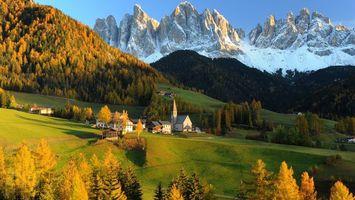 Бесплатные фото дома,окна,трава,зеленая,лес,деревья,горы