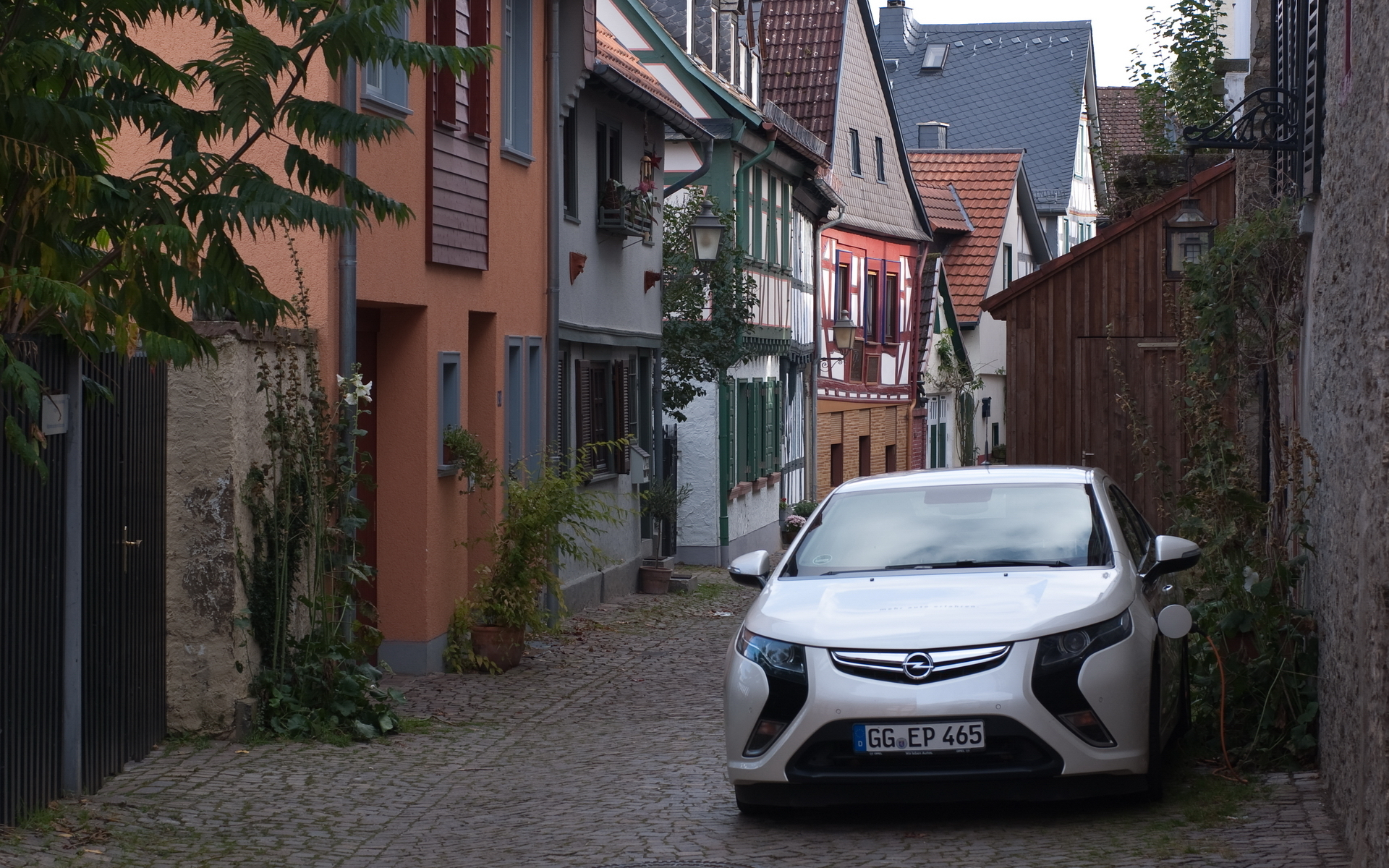 Обои Электромобиль, Опель, Ампера, Opel