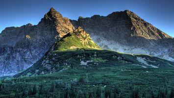 Фото бесплатно скалы, высота, природа