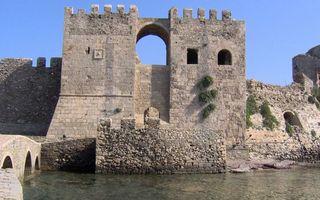 Бесплатные фото крепость,камень,кладка,развалины,мост,канал,река