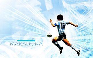 Бесплатные фото марадона,футболист,парень,спортсмен,мяч,форма,бег