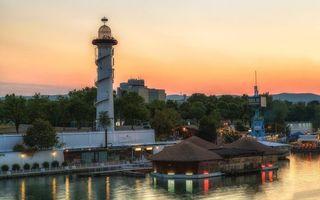 Фото бесплатно маяк, берег, моря